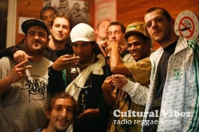 Cultural Vibes - Radio Reggae show - Part3 - Matthew McAnuff - Live Freestyle alongside Own Mission Sound