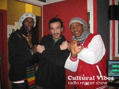 Cultural Vibes - Radio Reggae show - Part 3 - Mystikal Heights & Mano from Dynamik Sound