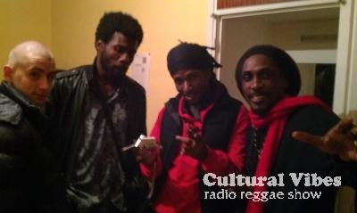 Cultural Vibes - Radio Reggae show - Part 1 - L'Homme Sagesse (Interview, Tunes & Freestyle)