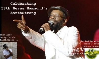 Cultural Vibes - Radio Reggae show - 30 août 2013 - Spéciale BERES HAMMOND (EarthStrong Celebration) / NEWS & ACTU (Nu Roots) / ROLLIN SOUND (Selecta ScienJ) / NEWS & ACTU (DanceHall)