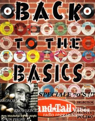 Cultural Vibes - Radio Reggae show - 06 Dec. 2013 - Intro (Get Jah Involve Tour Promotion Time) / BRONCO KONWLEDGE's PHONER / BACK TO BASIC Session alongside Selecta POLINO (STANDTALL SOUND) - Back Pon The 70s !!!