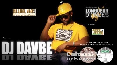 Cultural Vibes - Radio Reggae show - 28 mars 2014 - Happy EarthStrongs Derrick Morgan & King Kong !!! / NEWS & ACTU / DJ DAVBE (ASSO LONGUEUR D'ONDE) Ina Private Dancehall Party...