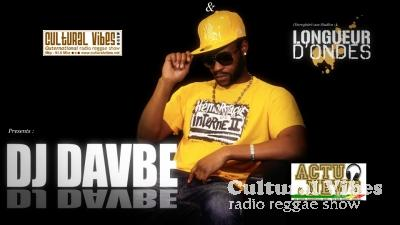 Cultural Vibes - Radio Reggae show - 27 juin 2014 -  NEWS & ACTU (Earthstrongs Celebration + Nu Roots) / DJ DAVBE (ASSO LONGUEUR D'ONDE) Ina Private Dancehall Party
