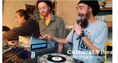 Cultural Vibes - Radio Reggae show - 23 Oct. 2015 - Selecta VINCE IRIE (Early Digital made in the US) - RAMSES SAI SAI LIVE (Interview + Freestyle) - Selecta SHARKOU (Early Digital All The Way)