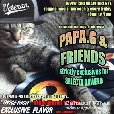 Cultural Vibes - Radio Reggae show - 11 Mars 2016 - Papa Gassna outta Justice Crew : dancehall hooliganz session 4 (strictly dubplate & exclusiv mix) with special guest marc anbessa (exclusiv interview)