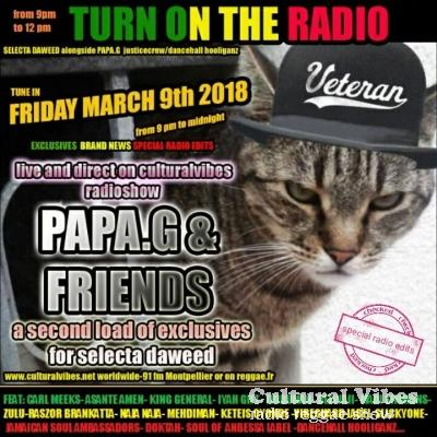 Cultural Vibes - Radio Reggae show - 09 Mars 2018 - Intro (Strictly Bran Nu) / Papa Gassna outta Justice Crew : dancehall hooliganz session 5 (strictly dubplate & exclusiv mix) / Outro (Bran Nu)